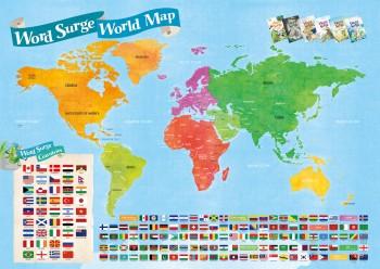 Word Surge - World Map